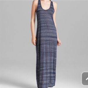 Vince Space Dye Heather Racerback Maxi Dress